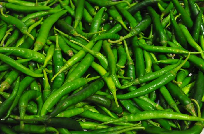 Ajies Picantes Cortos Verdes